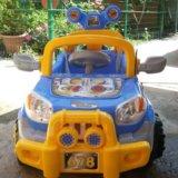 """Новый электромобиль """"super jeep"""" с пульт. управлен. Фото 4. Краснодар."""