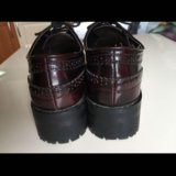 Женские ботинки лоуферы 46 р-р puul&bear. Фото 3.