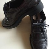 Женские ботинки лоуферы 46 р-р puul&bear. Фото 2.