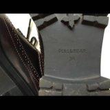 Женские ботинки лоуферы 46 р-р puul&bear. Фото 4.