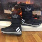 Дутики adidas, сапожки зимние. Фото 2.