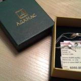 Кольцо золото адамас, цена снижена. Фото 3.