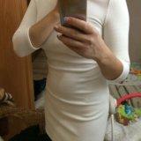 Облегающее платье белое. Фото 4. Волгоград.