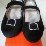 Замшевые туфли тифлани. Фото 2. Балашиха.