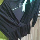 Черное платье хлопок/s/hm. Фото 1. Москва.