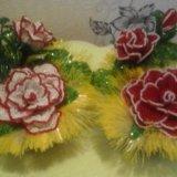 Цветы из бисера очень хороший подарок. Фото 1. Гатчина.