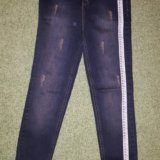 Распродажа новые джинсы на завышенной талии. Фото 1.