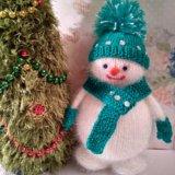 Вязаные игрушки снеговики. Фото 1. Москва.