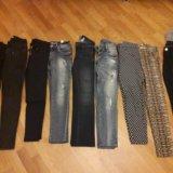 Джинсы, брюки, лосины на девушек 40-42. Фото 2.