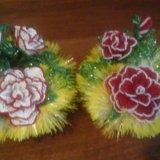 Цветы из бисера очень хороший подарок. Фото 3. Гатчина.
