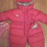 Зимний комбенизон  для  девочки  тёплый. Фото 1. Химки.