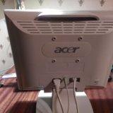 Монитор acer al512 жк стерео б/у. Фото 2.