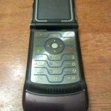 Motorola v3 i бордовый. Фото 3.