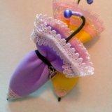 """Красивая брошь ,,зонтик"""" ручная работа. Фото 2."""