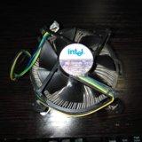 Боксовый куллер процессора intel pentium 4. Фото 1. Истра.