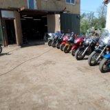 Ремонт мотоциклов. Фото 2.