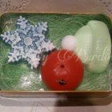 """Набор """"новогодний #04"""". мыло ручной работы. Фото 2."""