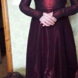Платье на выпускной на торжество. Фото 1.