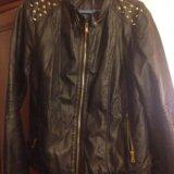 Кожаная куртка с шипами. Фото 1.