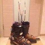 Горнолыжные ботинки salomon quest ac. Фото 1.