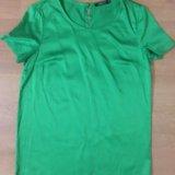 Блуза изумрудного цвета. Фото 1. Аксай.