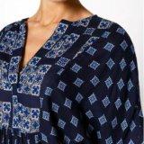 Новая блузка жен. цвет темно-синий. Фото 2. Уфа.