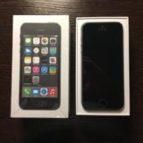 Iphone 5s 16gb space gray. Фото 1.