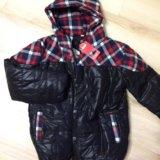 Новая куртка на мальчика рост 134см. Фото 1.