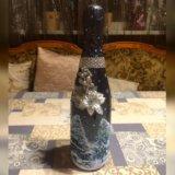 Бутылка (декупаж). Фото 1. Зеленоград.