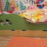 Кровать с ортопедическим матрацам. Фото 1.