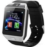 Умные часы-телефон smart watch phone dz09. Фото 1. Якутск.