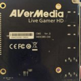 Плата видеозахвата avermedia live gamer hd lite. Фото 2. Москва.