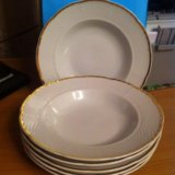 Набор суповых тарелок. Фото 1. Арсеньев.