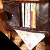 Мужской кожаный бумажник. Фото 2.