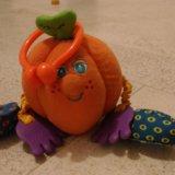 Тини лав игрушка апельсин погремушка tiny love. Фото 1.