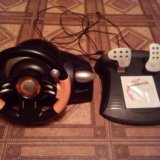 Руль игровой genius. Фото 1. Самара.