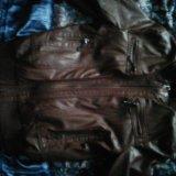 Куртка кожаная. Фото 1. Волгодонск.