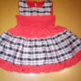Платье для девочки новое. Фото 2.