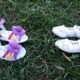 Комплект новой обуви на малышку. Фото 1. Новосибирск.