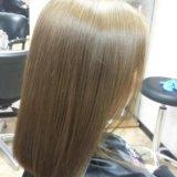 Горячее обертывание волос. Фото 4.