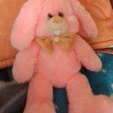Мягкая игрушка зайчик. Фото 1.