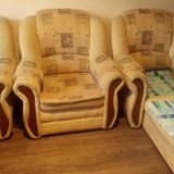 Диван + два кресла. Фото 2.