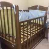 Детская кровать с маятником. Фото 2. Дивногорск.