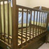 Детская кровать с маятником. Фото 1. Дивногорск.
