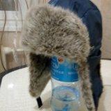 Шапка для мальчика зимняя. Фото 1.