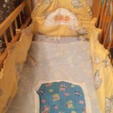 Бортики на кроватку. Фото 1.