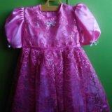 Платье для девочки ручная работа новое. Фото 1.