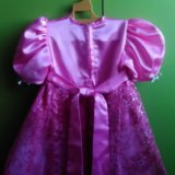 Платье для девочки ручная работа новое. Фото 2. Ангарск.