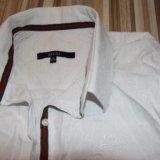 Рубашка белая привезена из дубая. Фото 1.