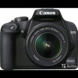 Фотоаппарат canon eos 1000d. Фото 2. Красноярск.
